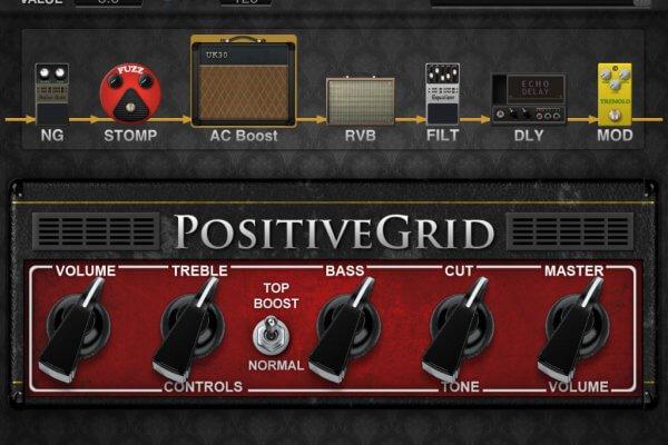 GuitarUp PositiveGrip JamUp XT