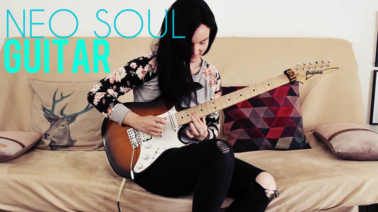 apprendre la guitare Neo Soul (guitar lick avec tabs)